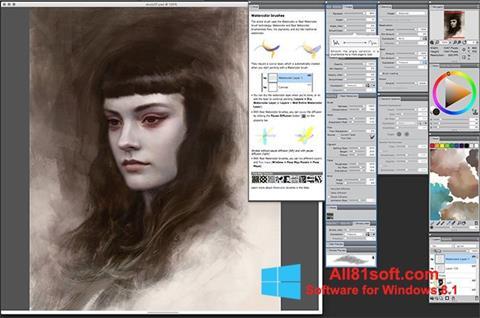 Скріншот Corel Painter для Windows 8.1