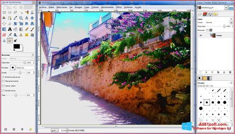 Скріншот GIMP для Windows 8.1