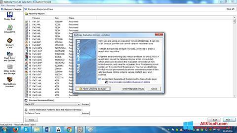 Скріншот BadCopy Pro для Windows 8.1