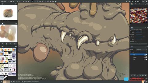 Скріншот MyPaint для Windows 8.1