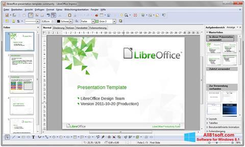 Скріншот LibreOffice для Windows 8.1