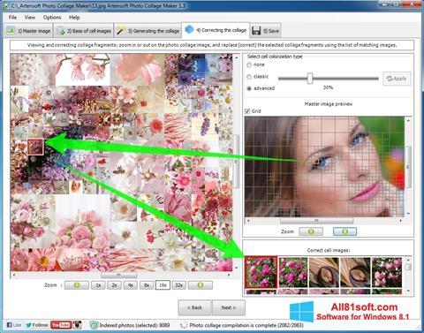 Скріншот Photo Collage Maker для Windows 8.1