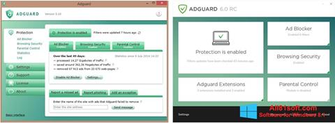 Скріншот Adguard для Windows 8.1