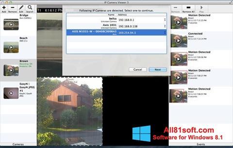 Скріншот IP Camera Viewer для Windows 8.1