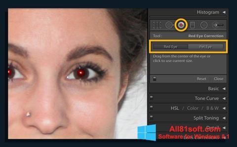 Скріншот Red Eye Remover для Windows 8.1