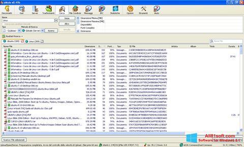 Скріншот eMule для Windows 8.1