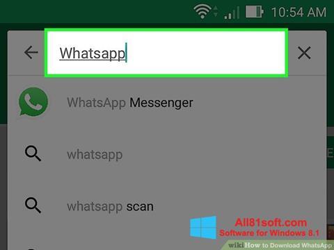 Скріншот WhatsApp для Windows 8.1